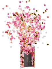 Pink Shimmer Confetti, Mini