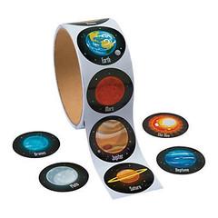 Solar System Stickers