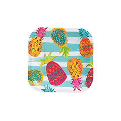 Pineapple Party Plates, Small