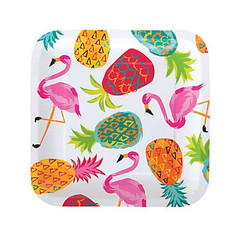 Pineapple Party Plates, Large