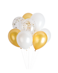 Golden Classic Balloons