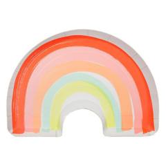 Rainbow Plates, Die-Cut