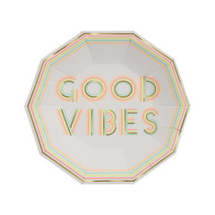 Good Vibes Plates, Small