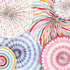 Toot Sweet Pinwheel Decorations