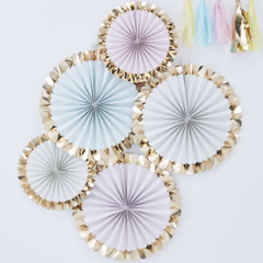 Hip, Hip, Hooray Pastel Pinwheel Kit