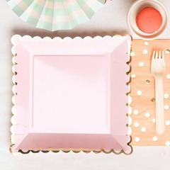 Blush Plates, Large
