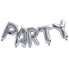 Silver Mylar Balloons, Party