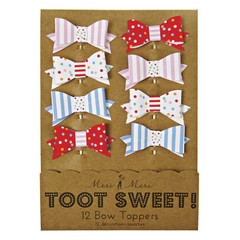 Toot Sweet Bow Toppers