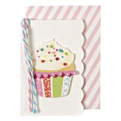 Beaded Cupcake Gift Enclosure