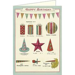 Happy Birthday Celebrations Card