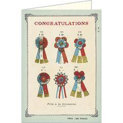 Congratulations Ribbons Card