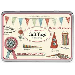 Glitter Celebrations Gift Tags