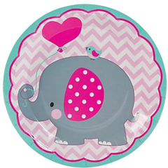 Pink Elephant Napkin
