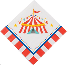 Circus Under The Big Top, Lunch Napkins