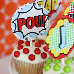 Cupcake / Treat Toppers