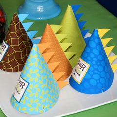 Dinosaur Roars Party Hats