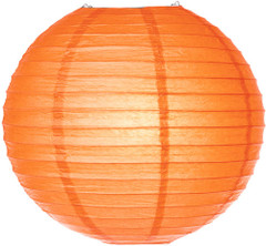 Pretty Paper Lanterns, Orange
