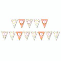 Garden Party Birthday Banner