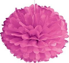 Pom Poms, Hot Pink