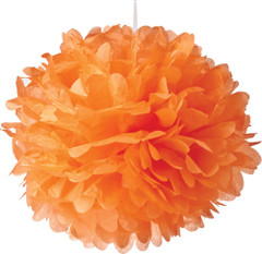 Pom Poms, Orange