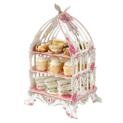 Afternoon Tea Birdcage Cake Stand