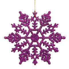 [SALE] Frozen Glitter Snowflake, Purple