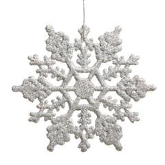 [SALE] Frozen Glitter Snowflake, Silver