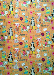 Meow Kitty Wrapping Paper