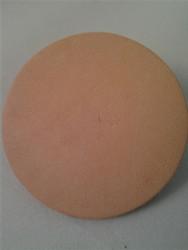 "Leather Honing Disk (""D"" Shaft)"