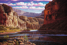 Grand Canyon River Canvas Art Prints | Eternal Waters by RW Hedge