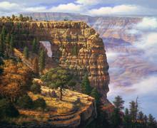 R. W. Hedge Angel's Window Grand Canyon Canvas Giclee Art Print