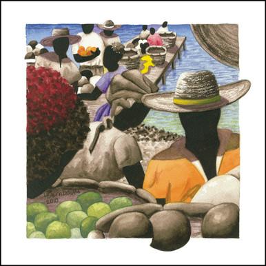 Petit Marche Couleur 10 by Lynne Bernbaum