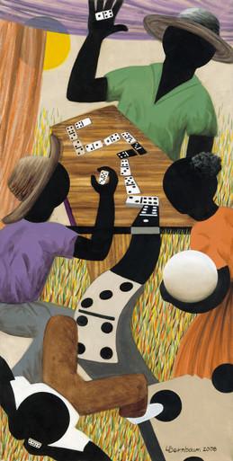 Domino Trail by Lynne Bernbaum