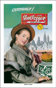 Dr Pepper  - Certainly Dr Pepper