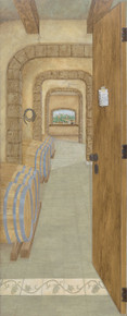 Look through the door into the wine cellar Fine Art Giclee Print by Kay Fox