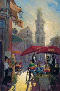 H. C. Zachry's Today's Special Fine Art Canvas Giclee Print