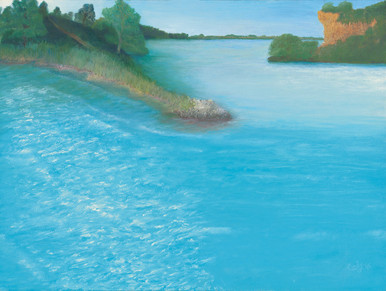 Cindy Armour painting Good Morning on Fine Art Paper or Canvas.