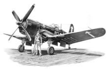 Vought F4U-4 Corsair by Mike Lynch