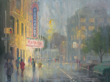 Paramount In The Rain by H. C. Zachry