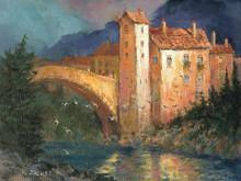 Medieval Bridge by H. C. Zachry