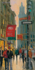 Lower Broadway by H. C. Zachry