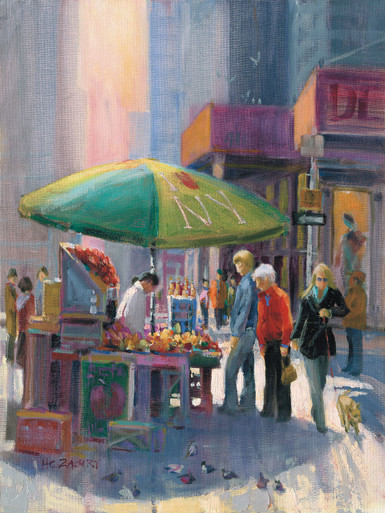 Street Vendor by H. C. Zachry