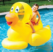 "60"" Yellow Ducky Ride-On"