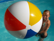 "48"" Classic 4 Color Beach Ball"