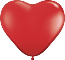 """36"""" Red VALENTINES DAY Heart Balloon - Latex"""