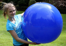 "36"" 1 Color Dark Blue Beach Ball"