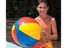 "24"" 3 Color Beach Ball - Red/Yellow/Blue"
