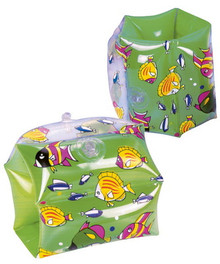 "10"" x 6"" Inflatable High Fashion Arm Bands - GREEN"