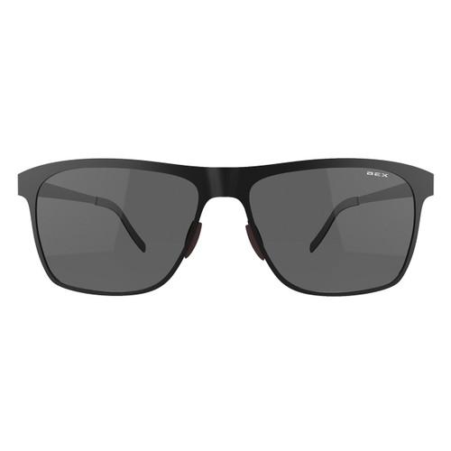 Bex Sunglasses, Roxynn, Black Frame Gray Lens