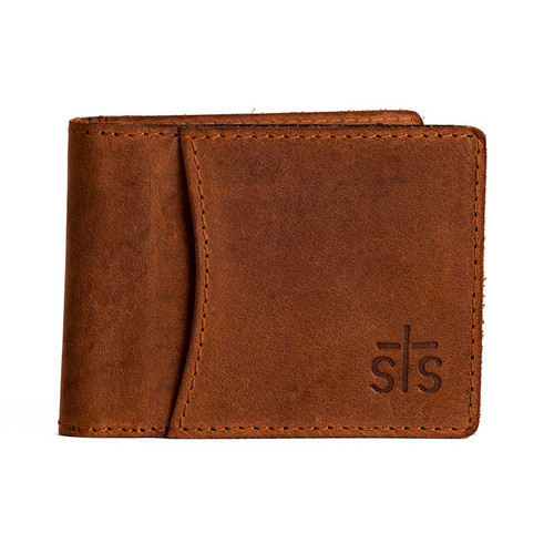 Men's STS Wallet, Bi-Fold Money Clip, Foreman's